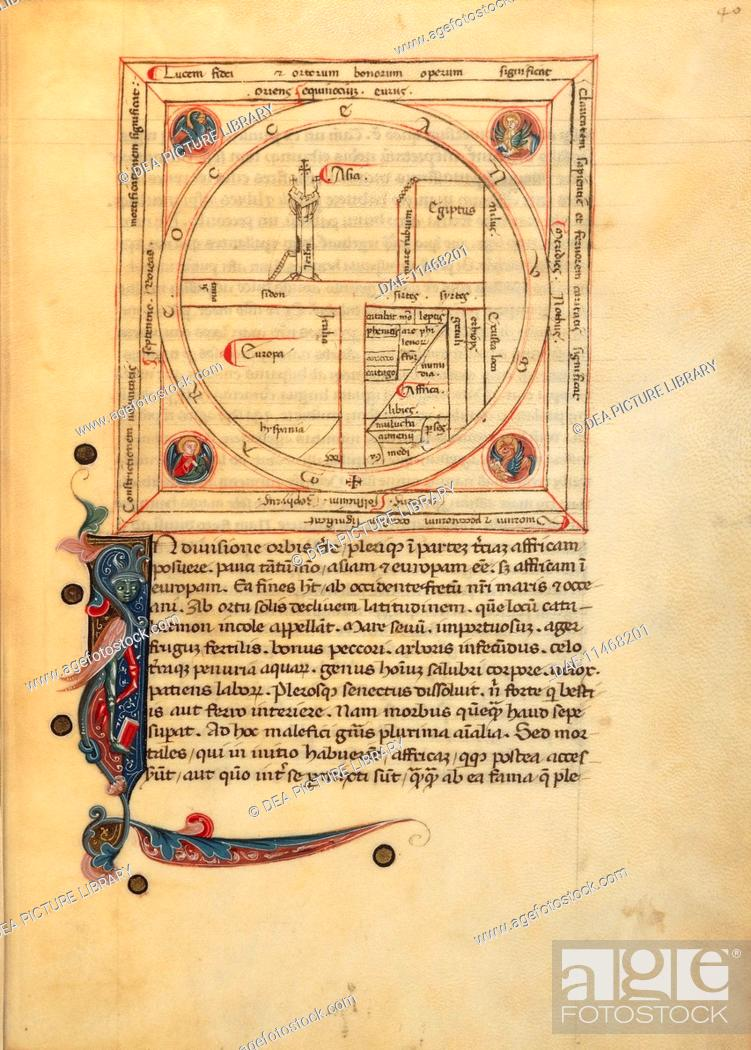 Cartography 14th century mappa mundi medieval world map in de 0 gumiabroncs Gallery