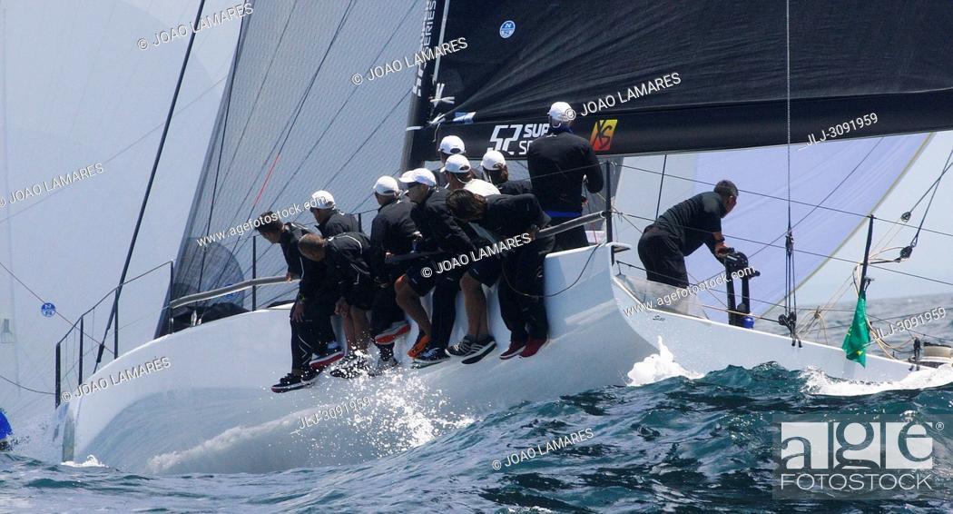 Stock Photo: Sled, #06, Owner: Takashi Okura, Sail nr: USA5095, New York Yacht Club, Builder: Core Builders Composites; Rolex TP 52 World Championship, TP52 Super Serires.