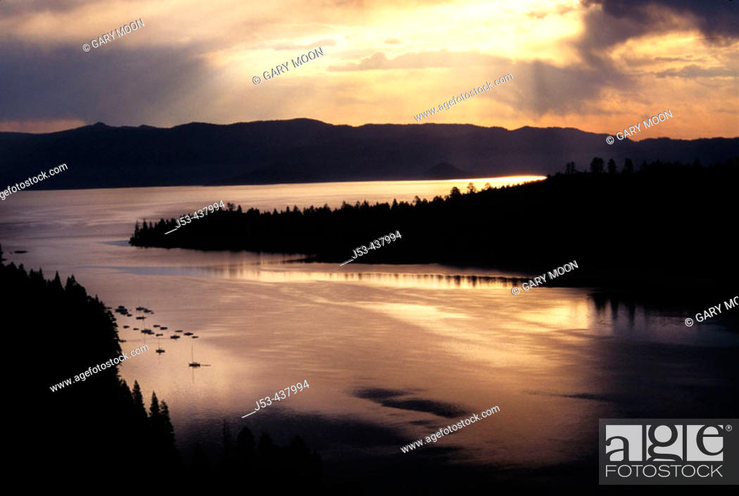 Stock Photo: Lake Tahoe, California USA.