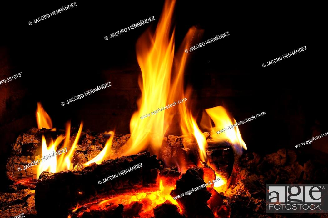 Stock Photo: Home Fire.