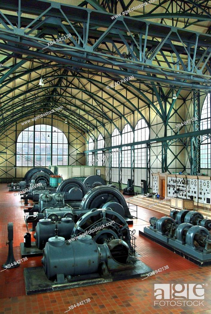 Stock Photo: Zeche Zollern, now Westfalian Museum of Industry (architecture in art nouveau style), Dortmund, Ruhr area, Germany.