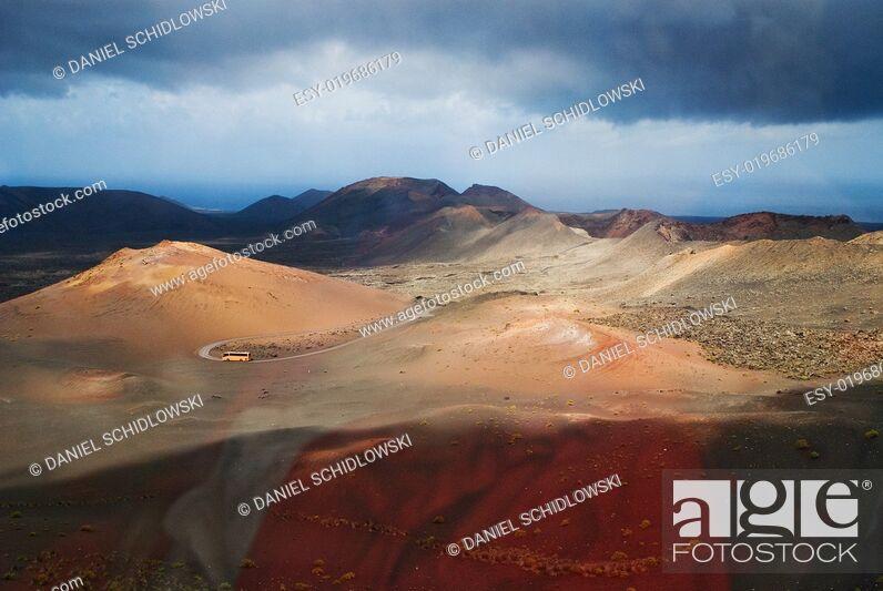 Stock Photo: Lanzarote.