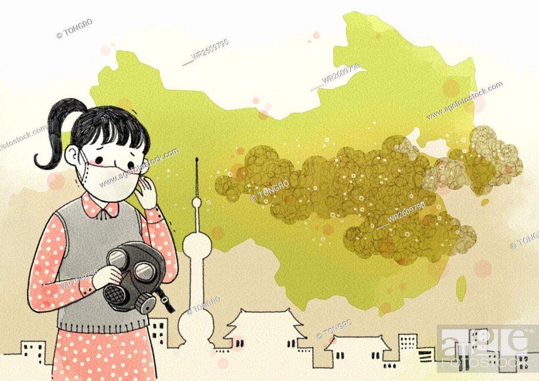 Imagen: Environmental pollution.