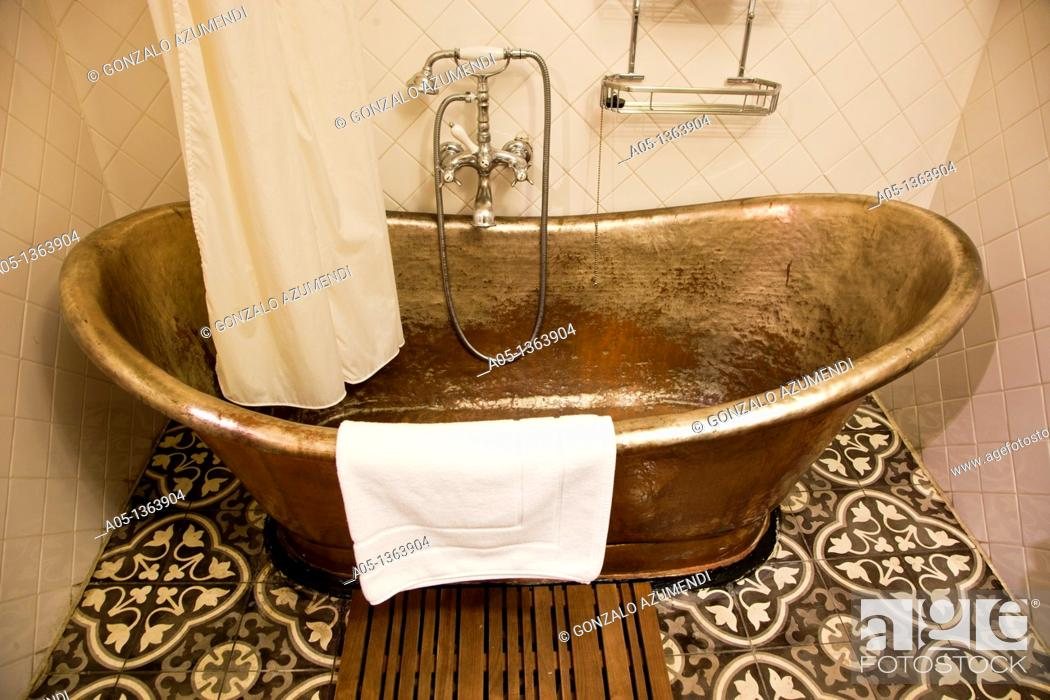 Stock Photo: Room The Eugenia hotel  Relais and Chateaux Bangkok Thailand.