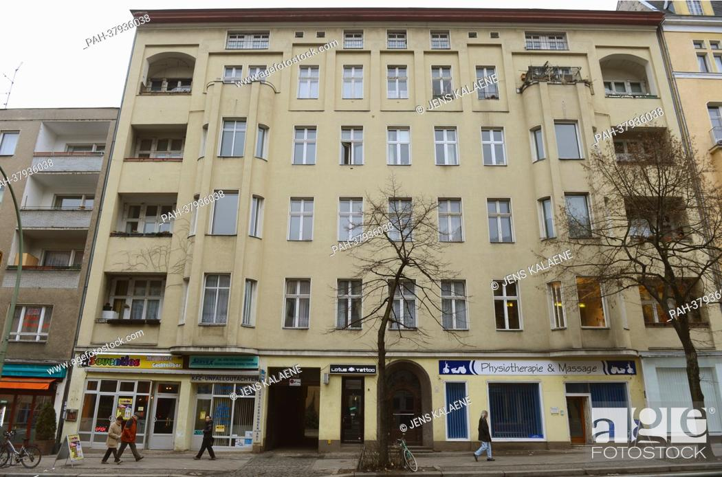 Stock Photo View Of The House At 155 Hauptstrasse Where David Bowie Resided During His Stay In Berlin Germany 14 February 2017