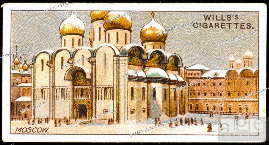 Stock Photo: Moscow: Uspenskiy Cathedral.