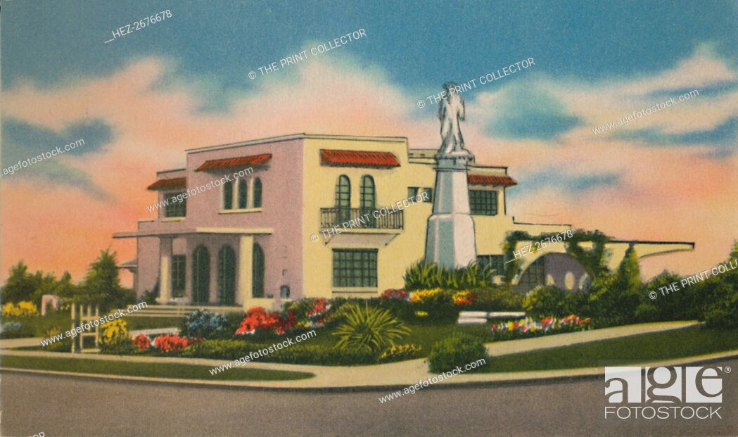 Stock Photo: 'Residence in Altos del Prado, Barranquilla', c1940s. Artist: Unknown.