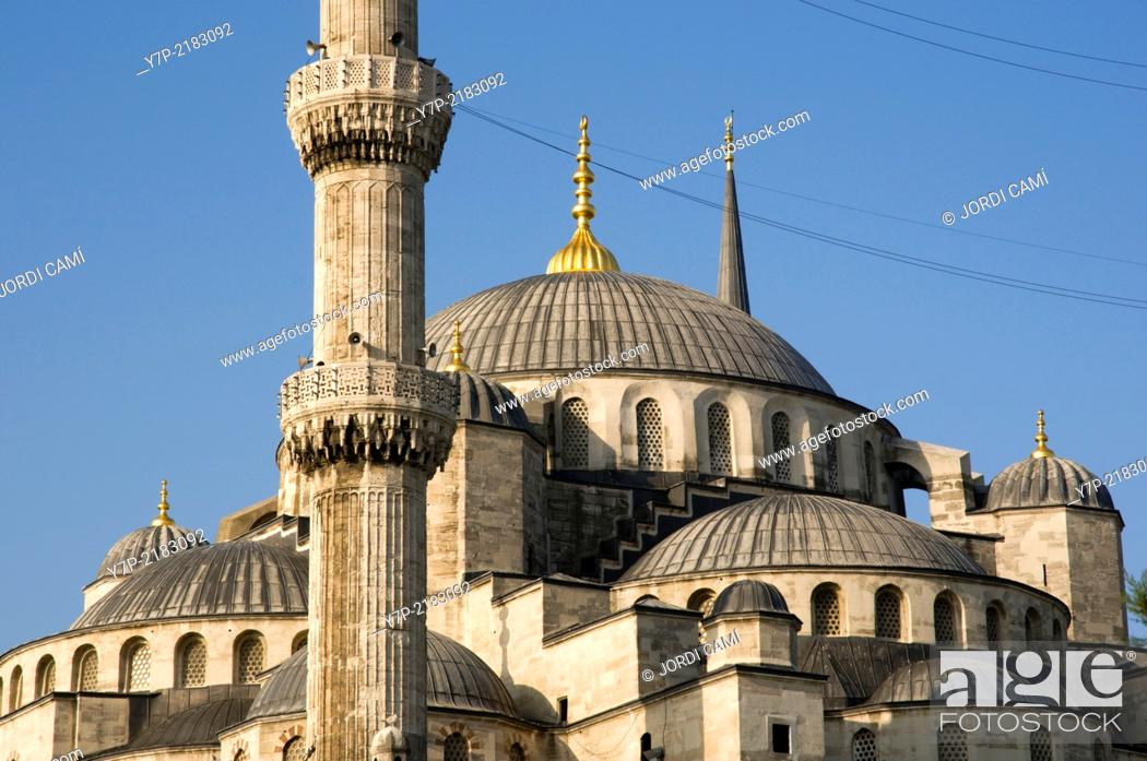 Stock Photo: Sultan Ahmed Camii (Blue Mosque) . Istanbul. Turkey.