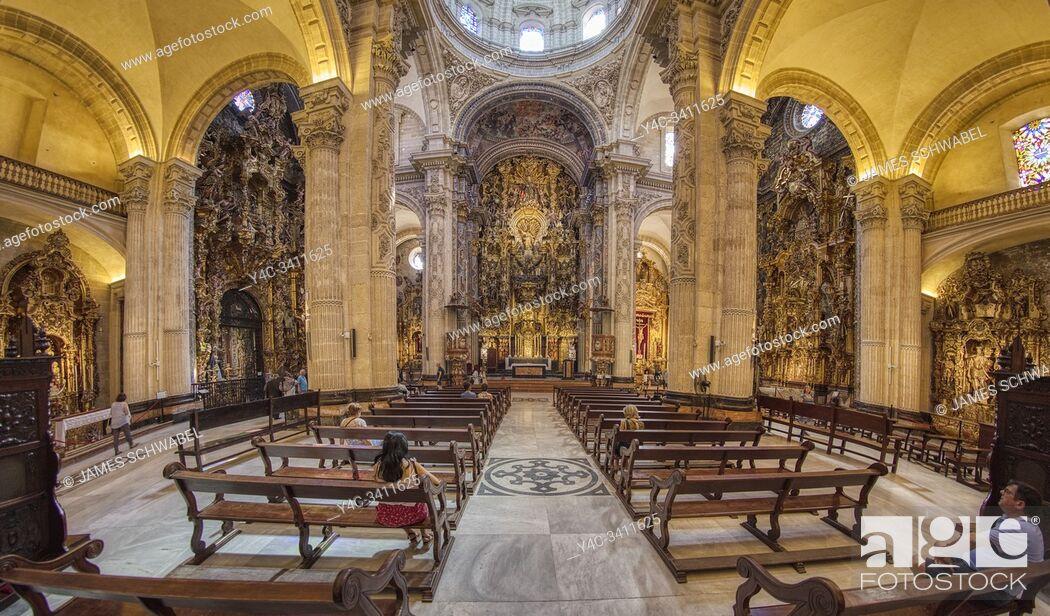 Imagen: Interior of Church of Our Saviour - Iglesia del Salvador in Seville Spain.