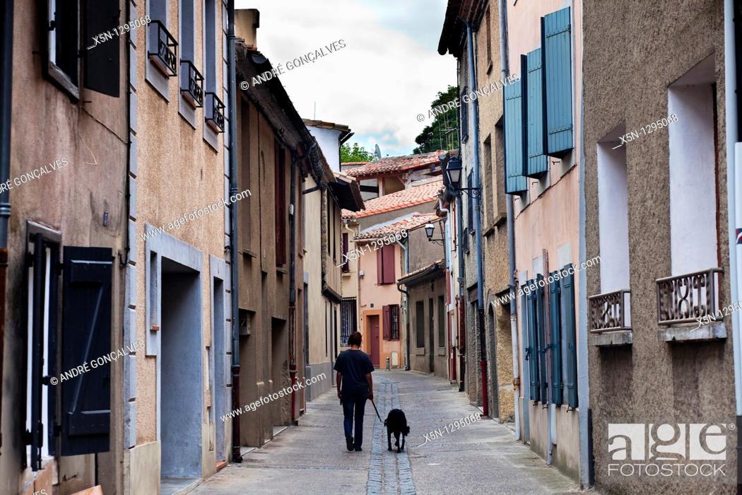 Stock Photo: Carcassone, France.