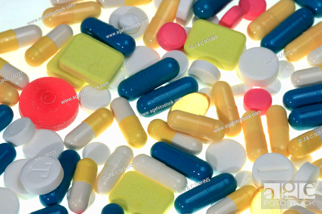 Stock Photo: Pills, Germany, Medicals Medicine Doping.