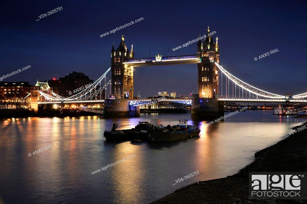 Imagen: United Kingdom (Great Britain). England. London. Tower Bridge (Tower Bridge).