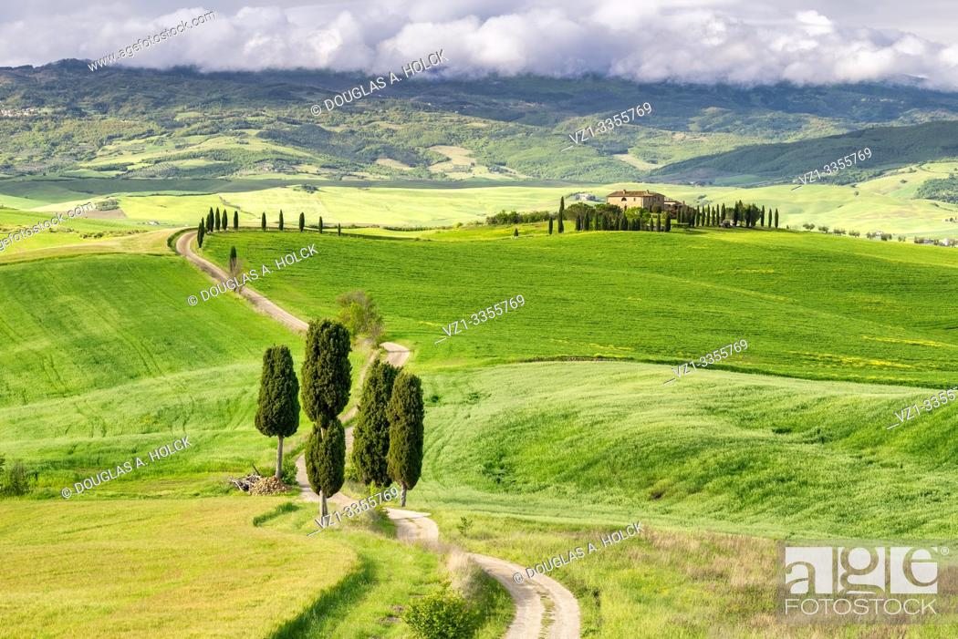 Imagen: Agriturismo Terrapille Val d'Orcia Pienza Italy World Location.