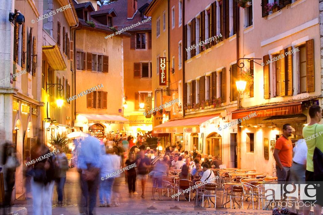Stock Photo: France, Haute Savoie, Annecy, the old town.