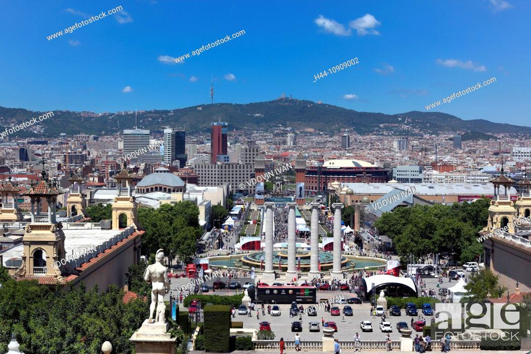 Stock Photo: Europe, European, travel, destinations, Iberian Peninsula, Mediterranean Country, Southern Europe, Spain, Spanish, cities, city, Barcelona, Catalan, Catalonia.