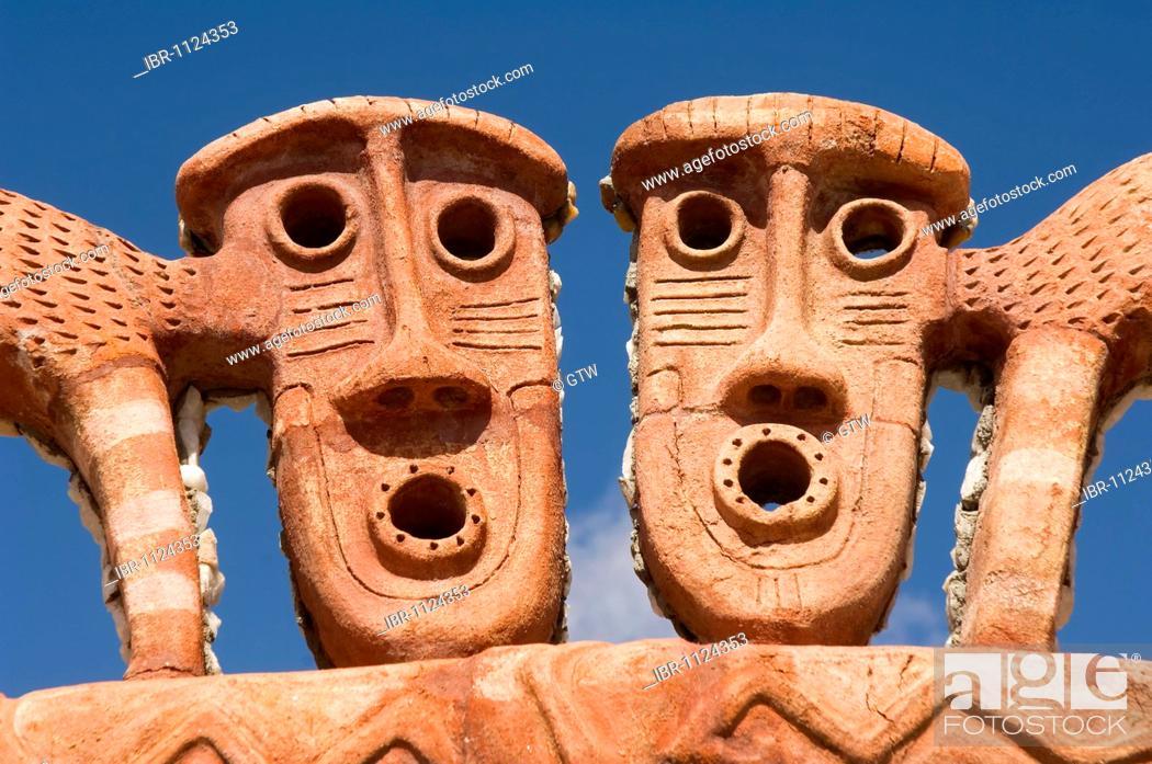 Imagen: Pachamama museum of the Inca people in Calchaqui Valley, Amaicha, Tucuman Province, Argentina.
