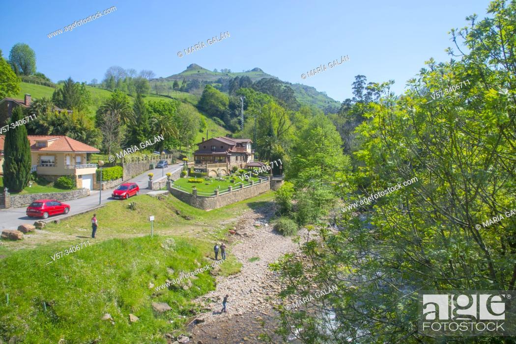 Stock Photo: Landscape. Lierganes, Cantabria, Spain.