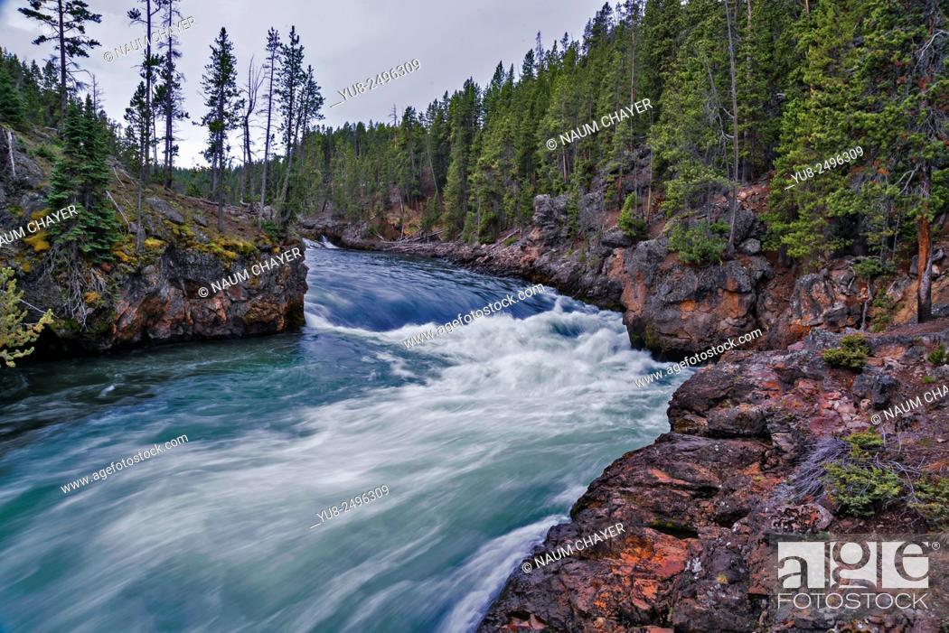 Stock Photo: Beautiful landscape, Wyoming, USA.