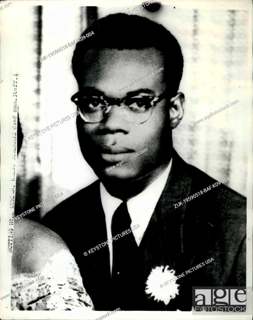 May 18, 1959 - Jamaican murdered in Race Riot area of London