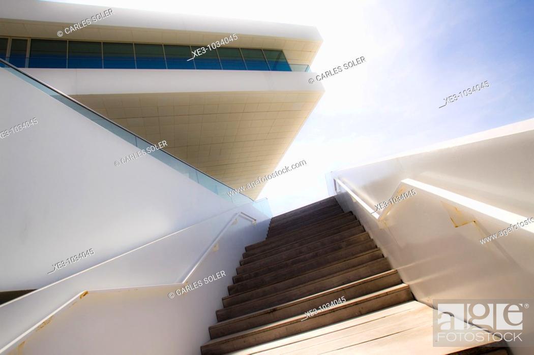 Stock Photo: Edificio Veles e Vents, Valencia.