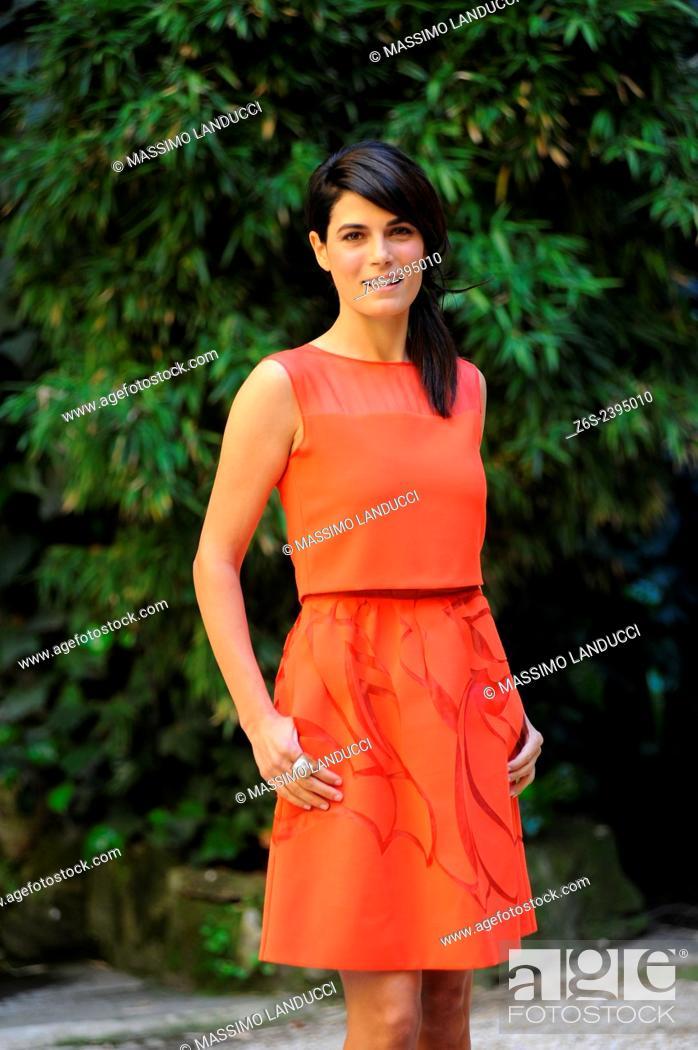 Stock Photo: Valeria Solarino; Solarino; actress; celebrities; 2015;rome; italy;event; photocall; la scelta.
