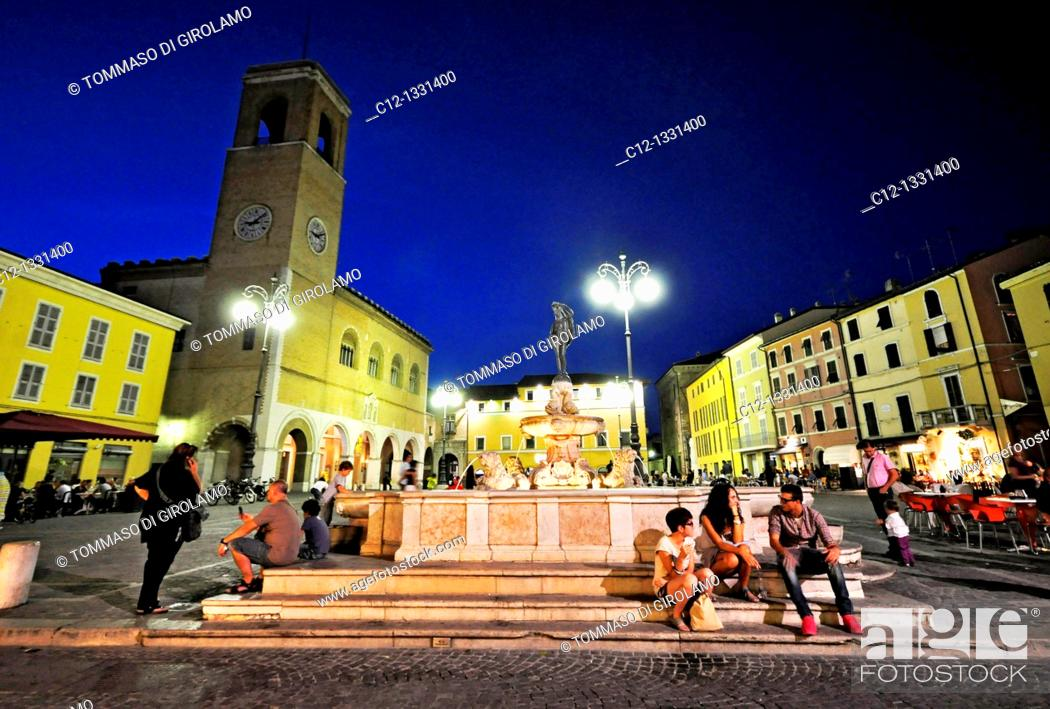 Stock Photo: Italy. Fano.