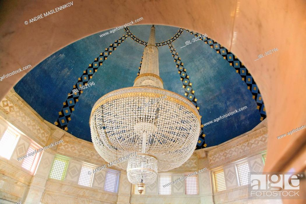 Stock Photo: Habib Bourguiba mausoleum in Monastir. Tunisia.