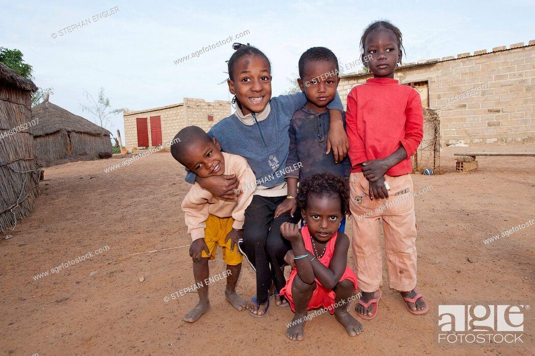 Sénégal, Senegal, village, Dorf , habitants, Leute, people