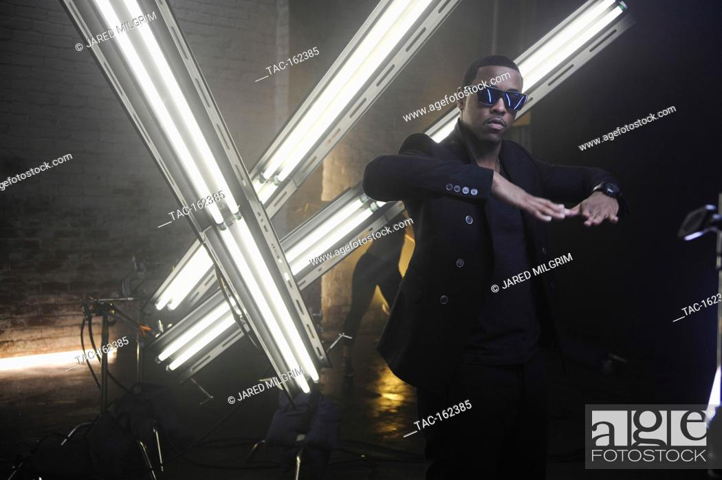 Jeremih on-set at the Jeremih featuring 50 Cent Music Video