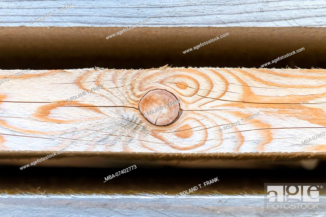 Stock Photo: Stacked wooden boards at a carpentry shop.