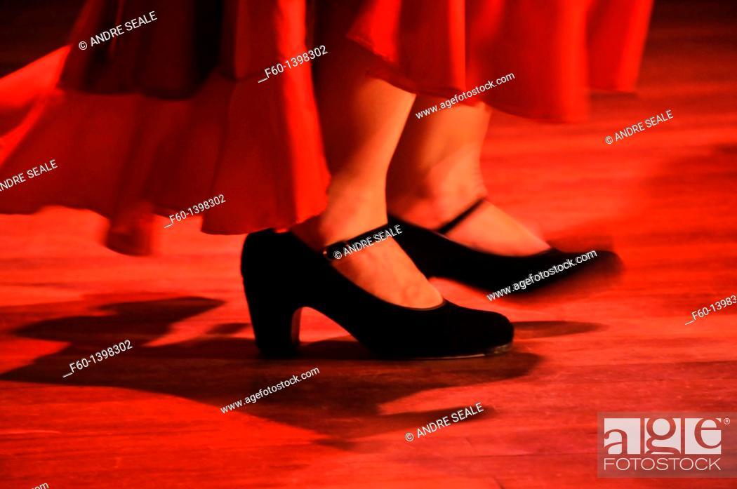 Stock Photo: Tap dancing, Sao Paulo, Brazil.