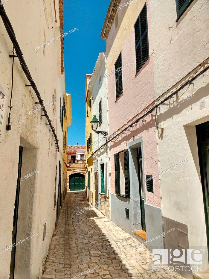 Imagen: Ciutadella, Menorca, Balearic islands.