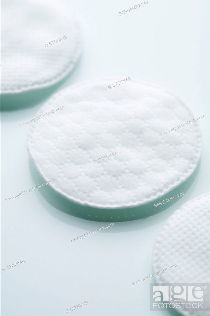 Stock Photo: Cotton Pads.