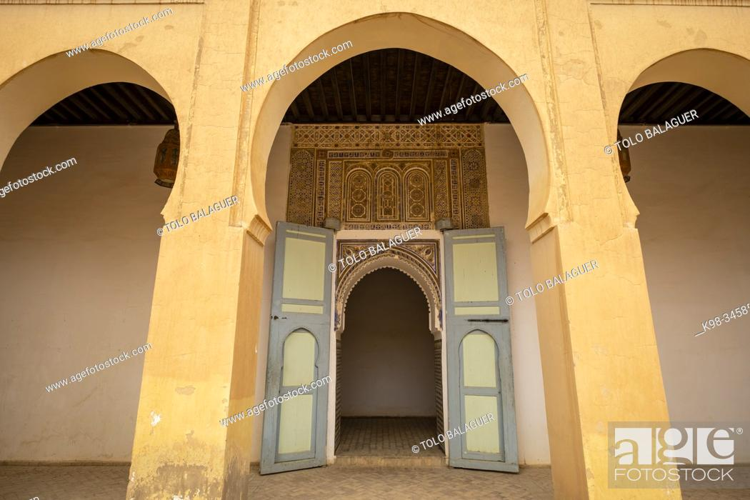 Stock Photo: El Fida, palacio Alauita, Rissani, Tafilalet, Marruecos, Africa.