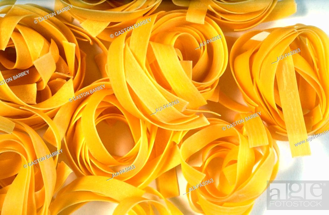Stock Photo: Pasta - Nids.
