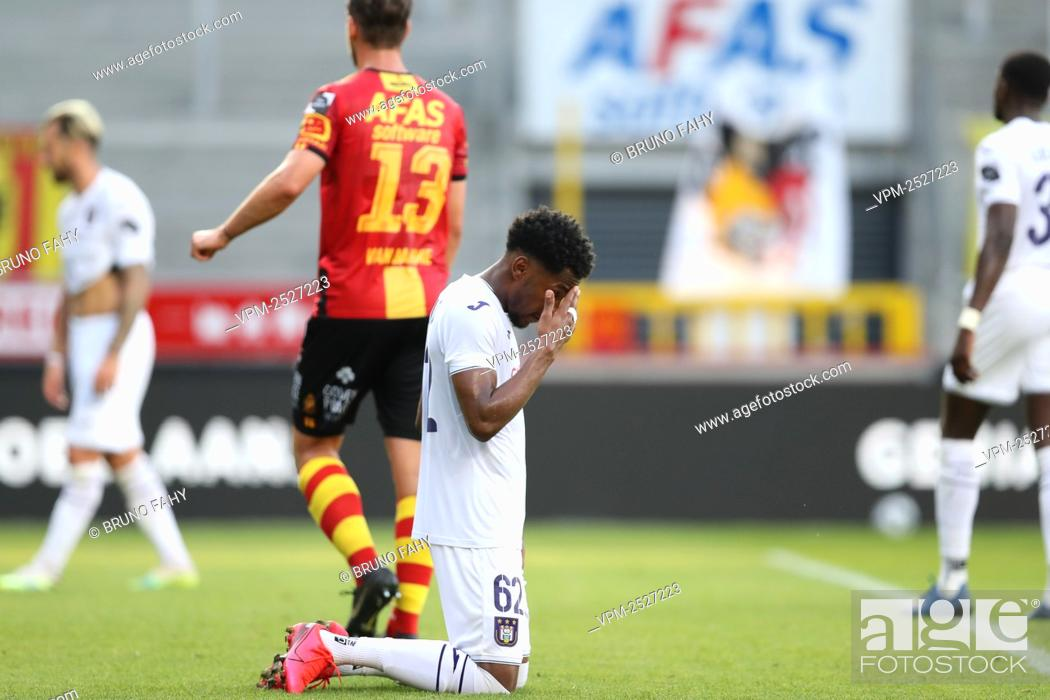 Imagen: Anderlecht's Amir Murillo looks dejected after the Jupiler Pro League match between KV Mechelen and RSC Anderlecht, in Mechelen, Sunday 09 August 2020.