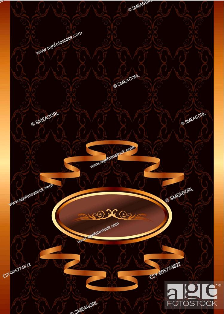 Stock Vector: royal background.