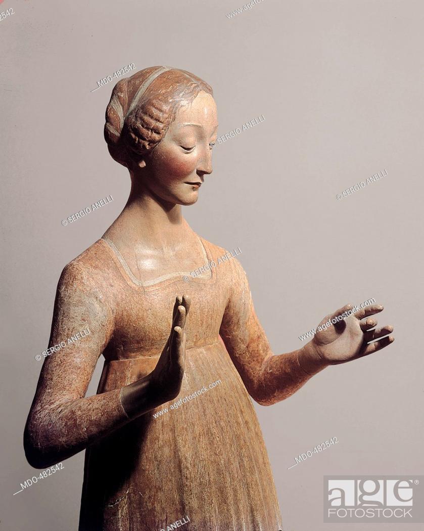 Madonna Annunciate, by Civitali Matteo, 15th Century