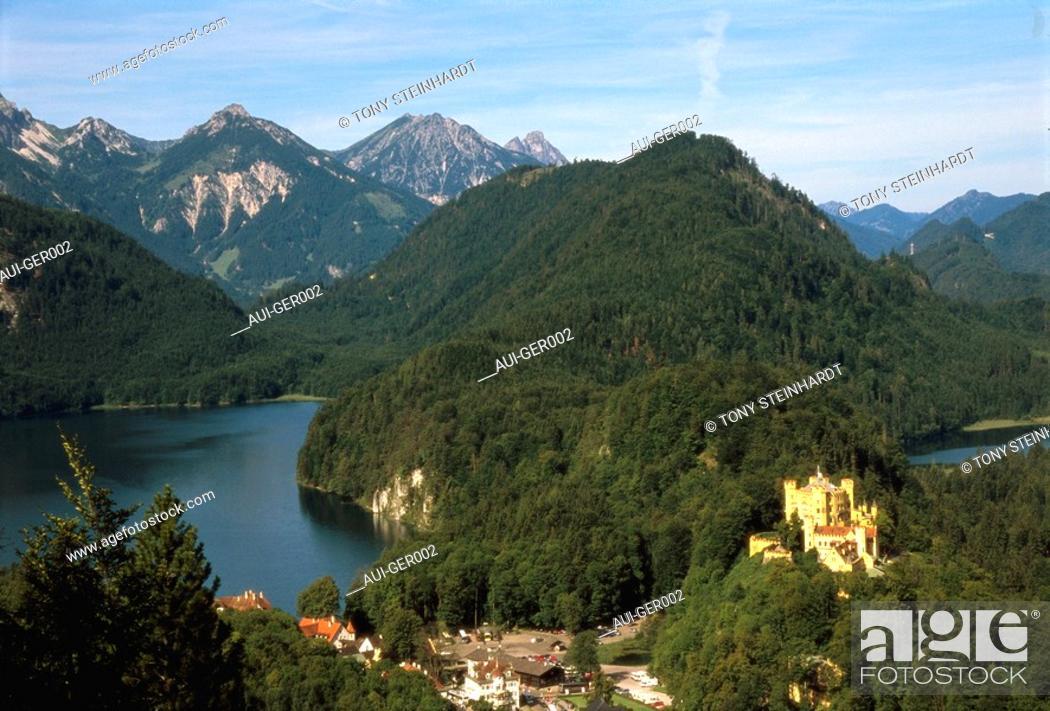 Stock Photo: Germany - Hohenschwangau Castle.