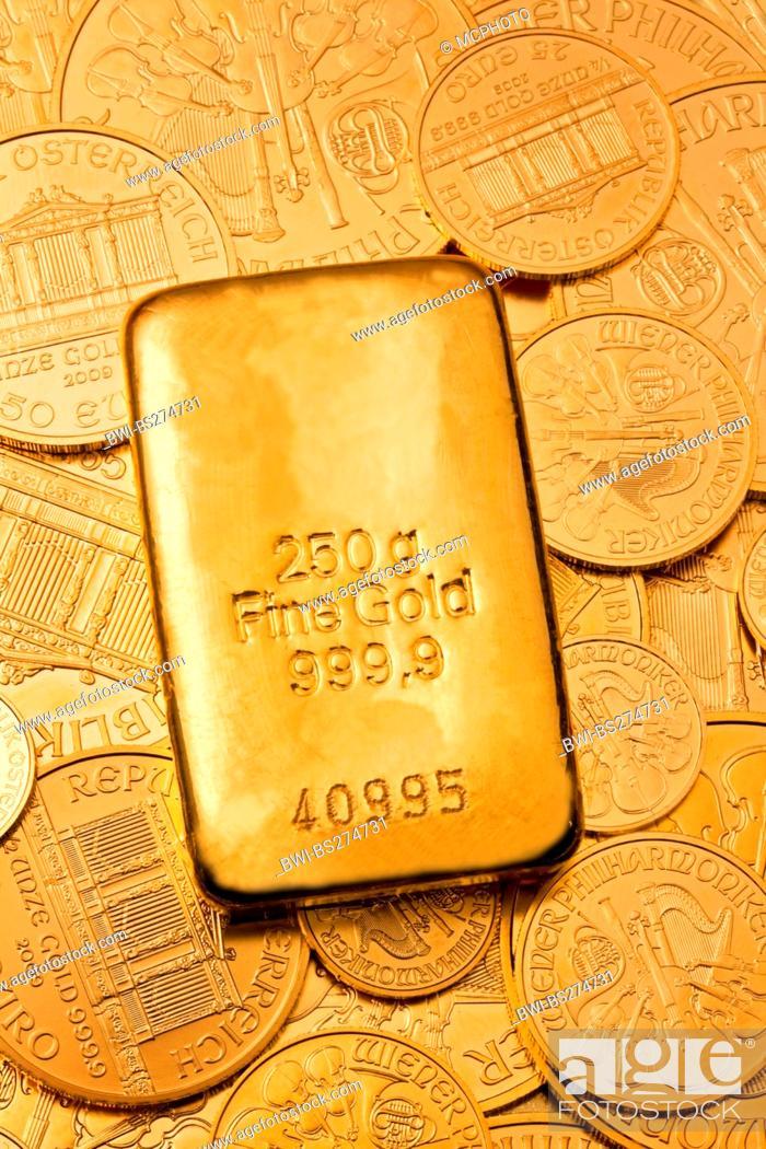 Gold Bullion On Coins 250 G Fine