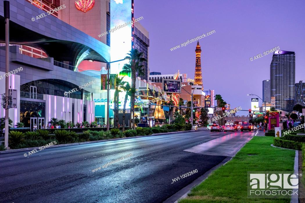 Stock Photo: The Strip, Las Vegas, Nevada, USA.
