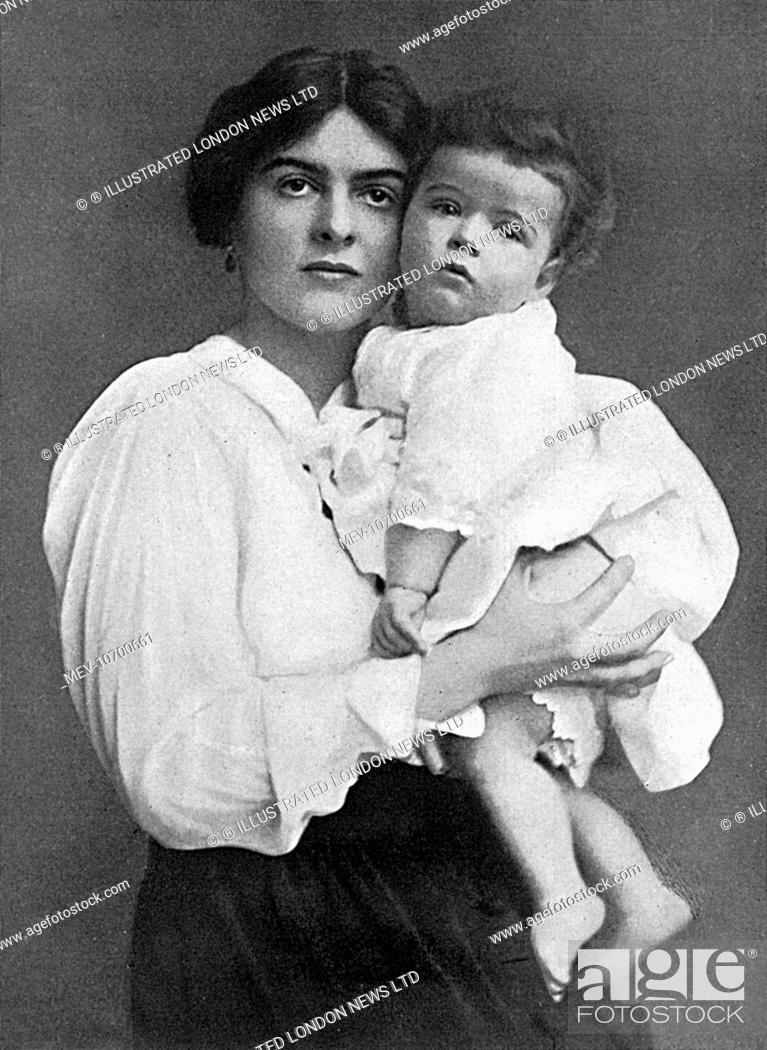 Margaret Nellie Nelly Hozier 1888 1955 Sister Of