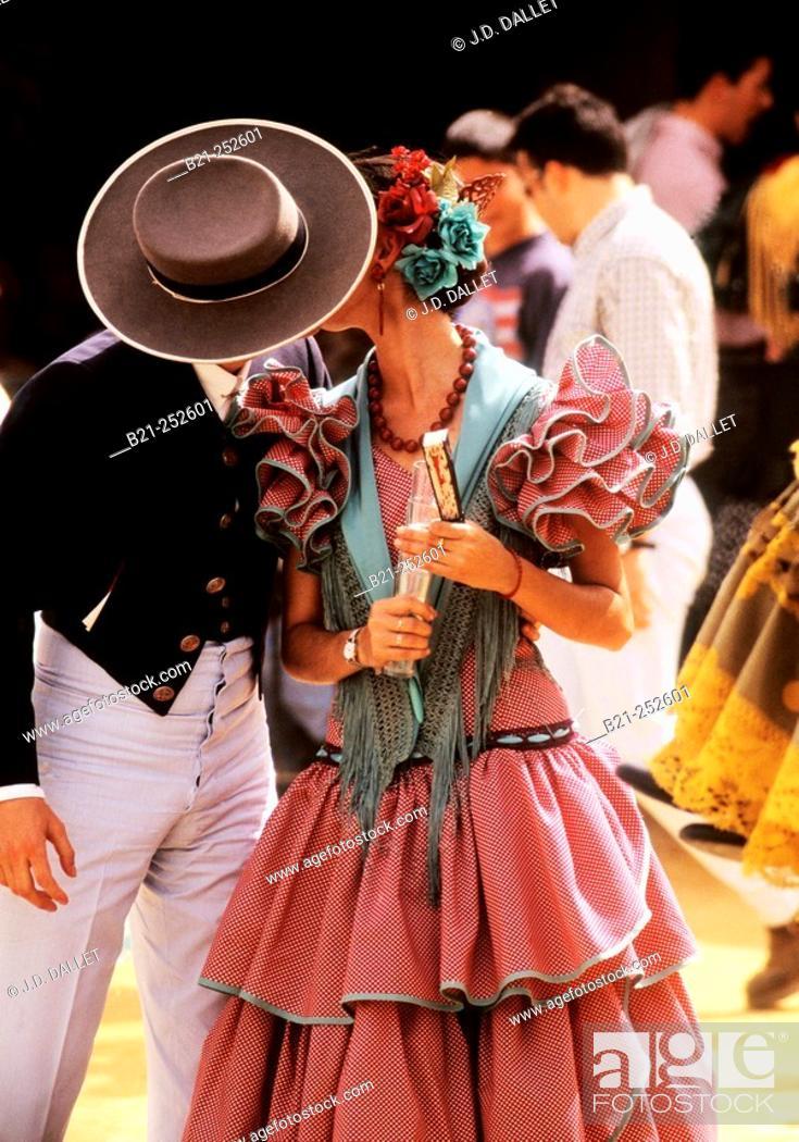 Stock Photo: Feria de Abril. Sevilla. Spain.