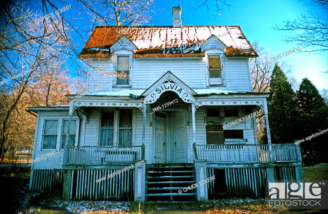 Stock Photo: Silvia's Old House.
