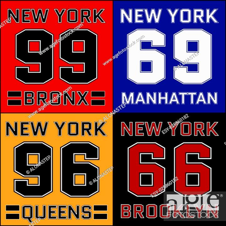 New York Districts Basketball Typography Athletic T Shirt Fashion Graphics Stock Photo Picture And Low Budget Royalty Free Image Pic Esy 025860182 Agefotostock