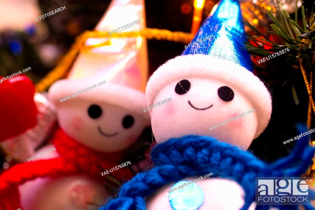 Stock Photo: holiday, santa, x-mas, snowman, natural phenomenon, christmas.