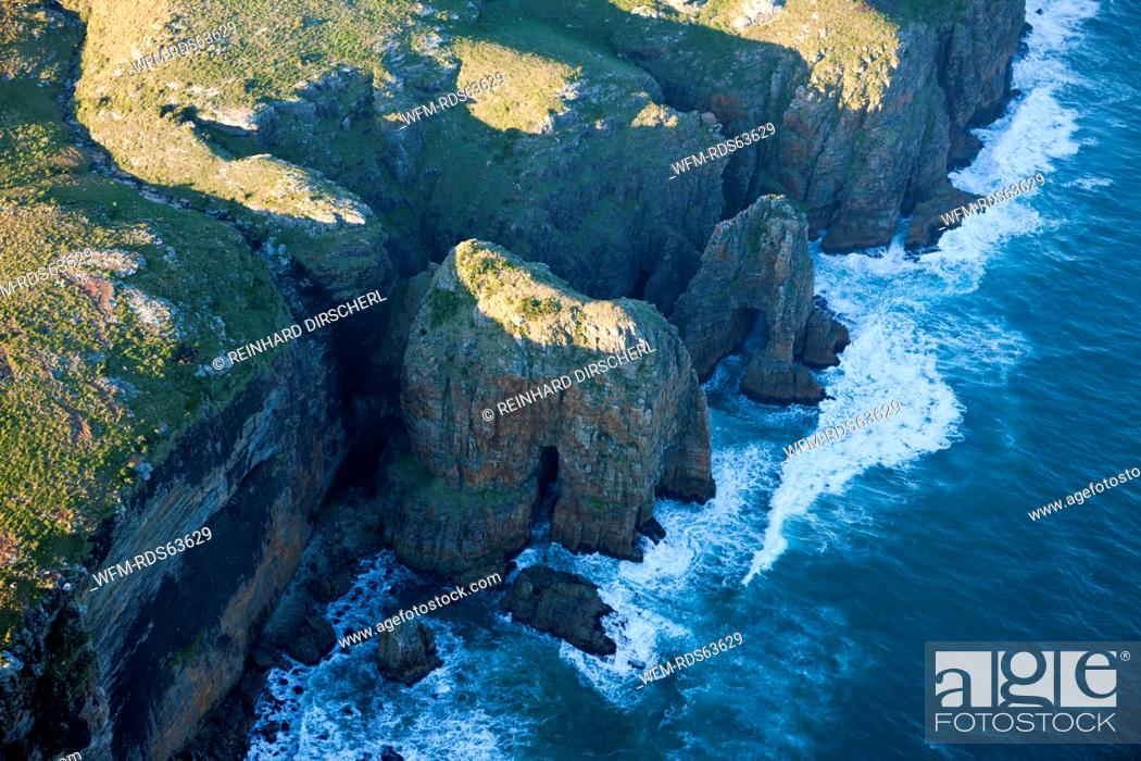 Stock Photo: Rocks at Wild Coast, Mbotyi, Eastern Cap, South Africa.
