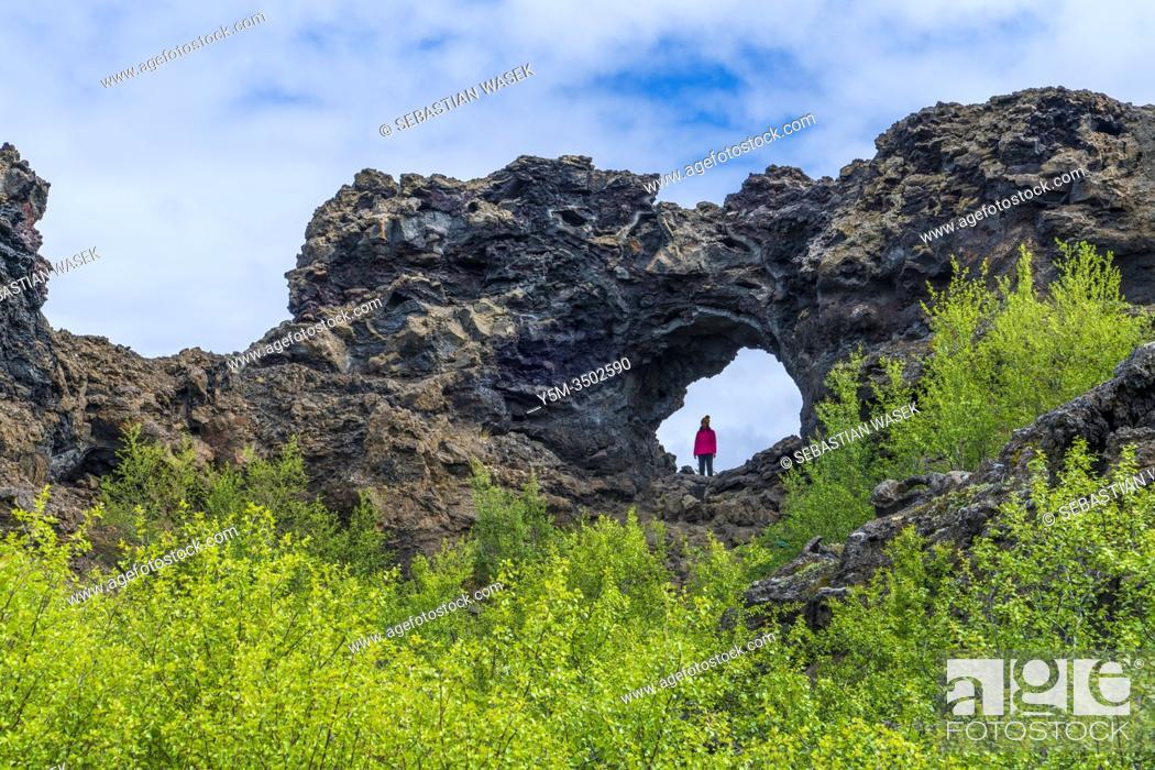 Imagen: Lavafeld Dimmu Borgir, Northwestern Region, Iceland.