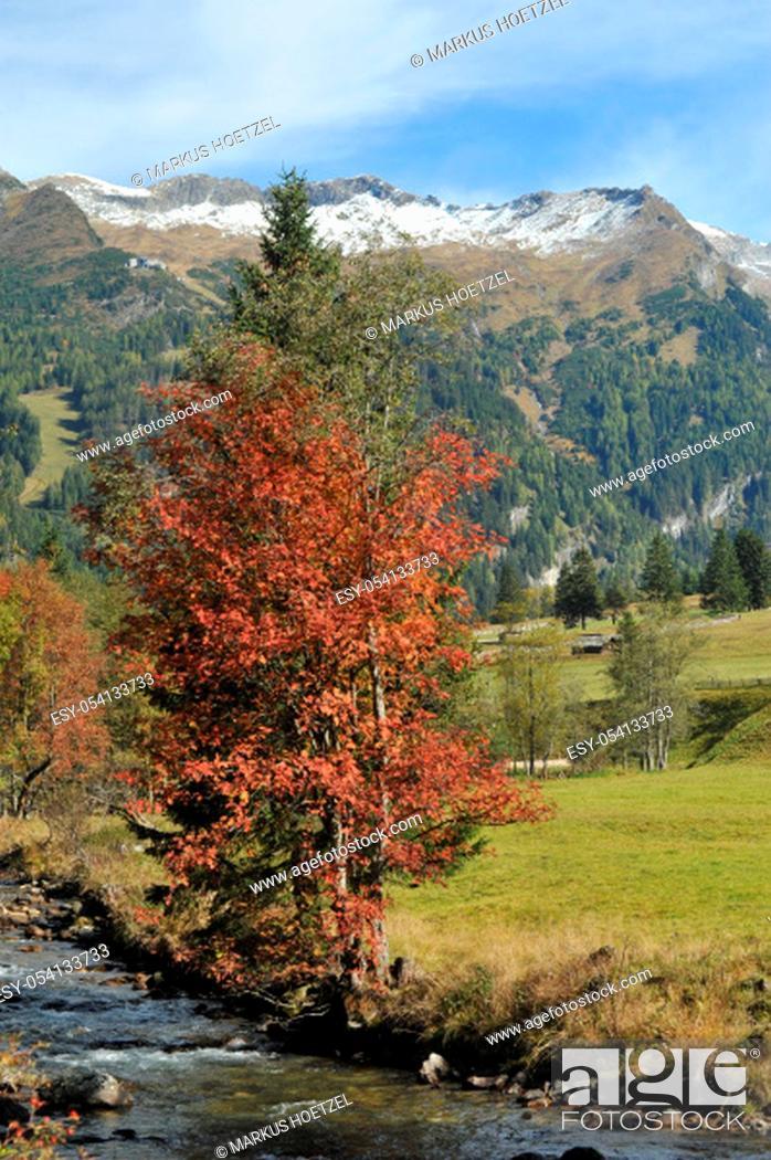 Stock Photo: Mallnitztal in Austria.