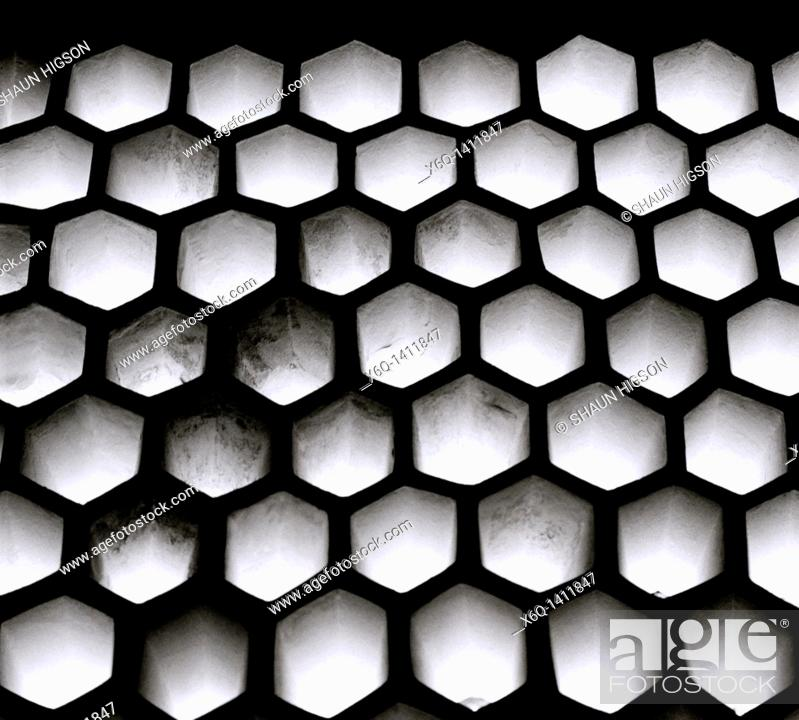 Stock Photo: Skylights in the Harem of the Topkapi Palace in Istanbul, Turkey.